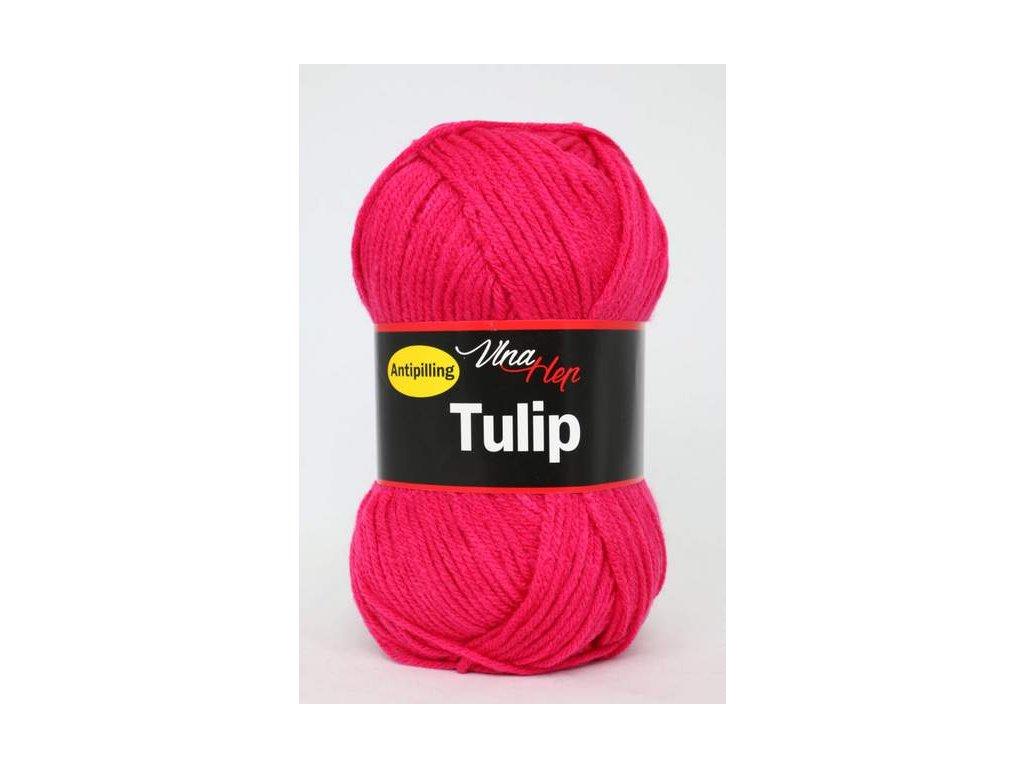 Příze Tulip 4305 -  růžovo červená neonová