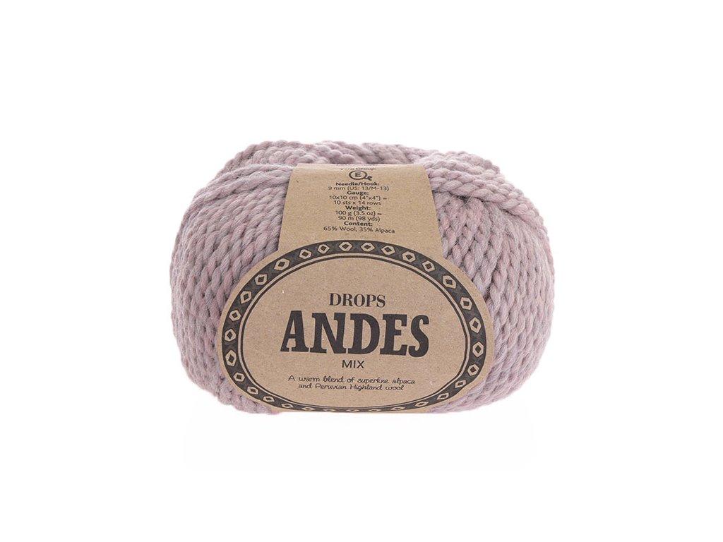 Příze Drops Andes mix 4276 - starofialová