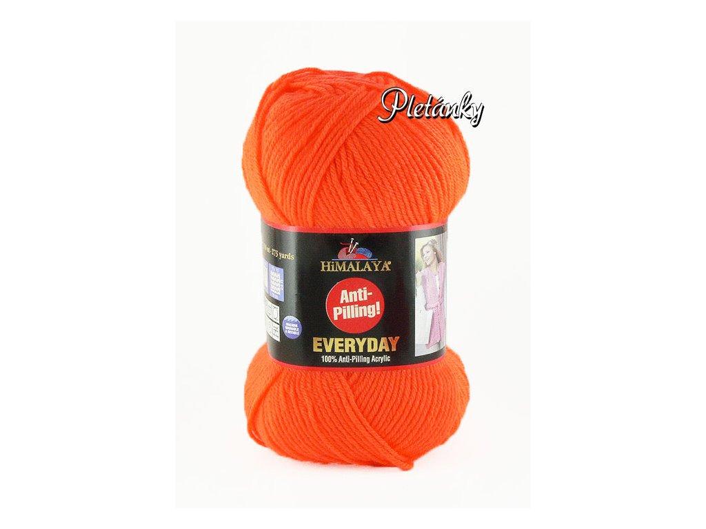 Příze Everyday 70051 – oranžová neonová