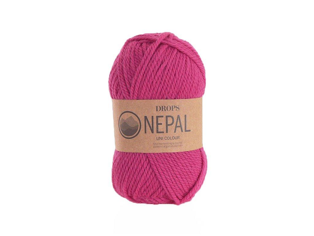 Příze DROPS Nepal uni colour 6273 - pink