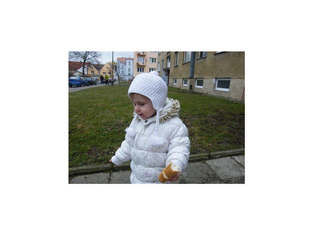 Zimní čepička - ušanka