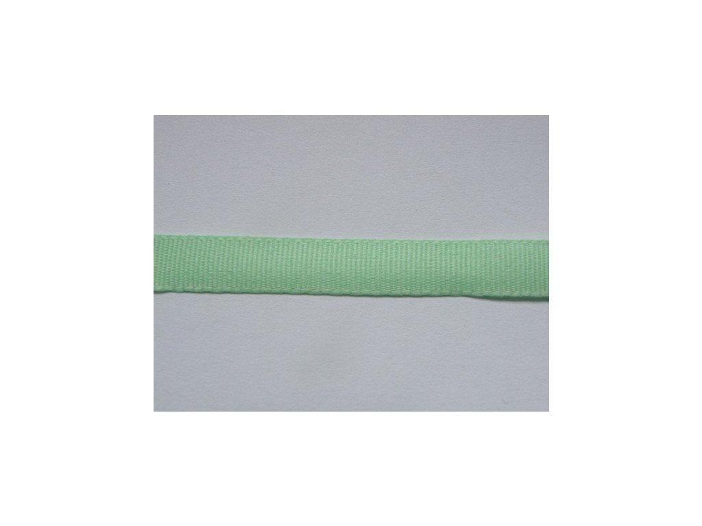 Stuha taftová 6mm , nilská zeleň - 306