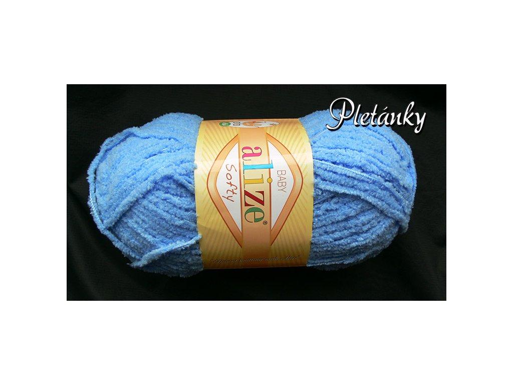 Příze Softy - 40 - světle modrá