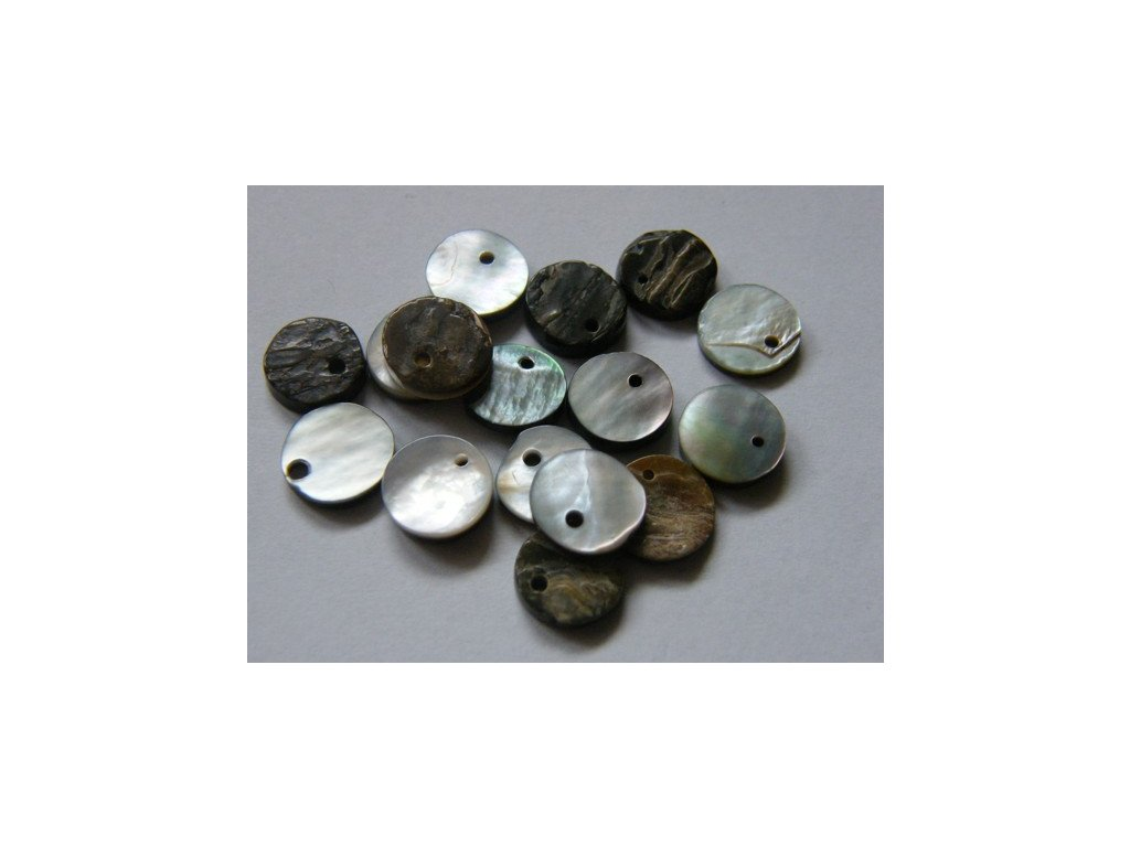 Perleťová placka 10 mm