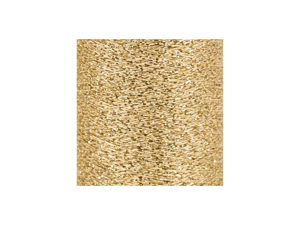 Příze DROPS Glitter - 01 zlatá