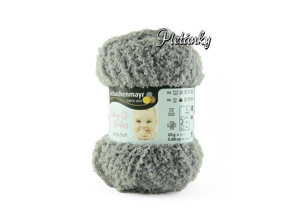 Příze Baby Smiles Lenja Soft 1090 - šedá