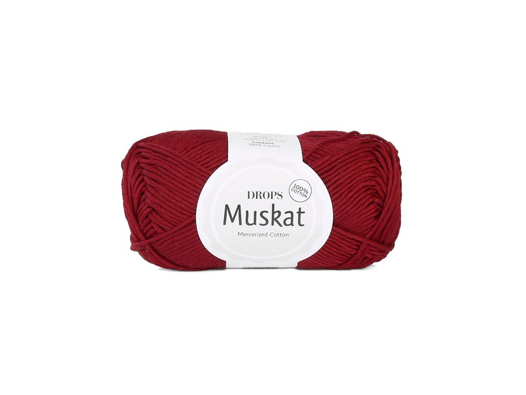 Příze DROPS Muskat 41- burgund