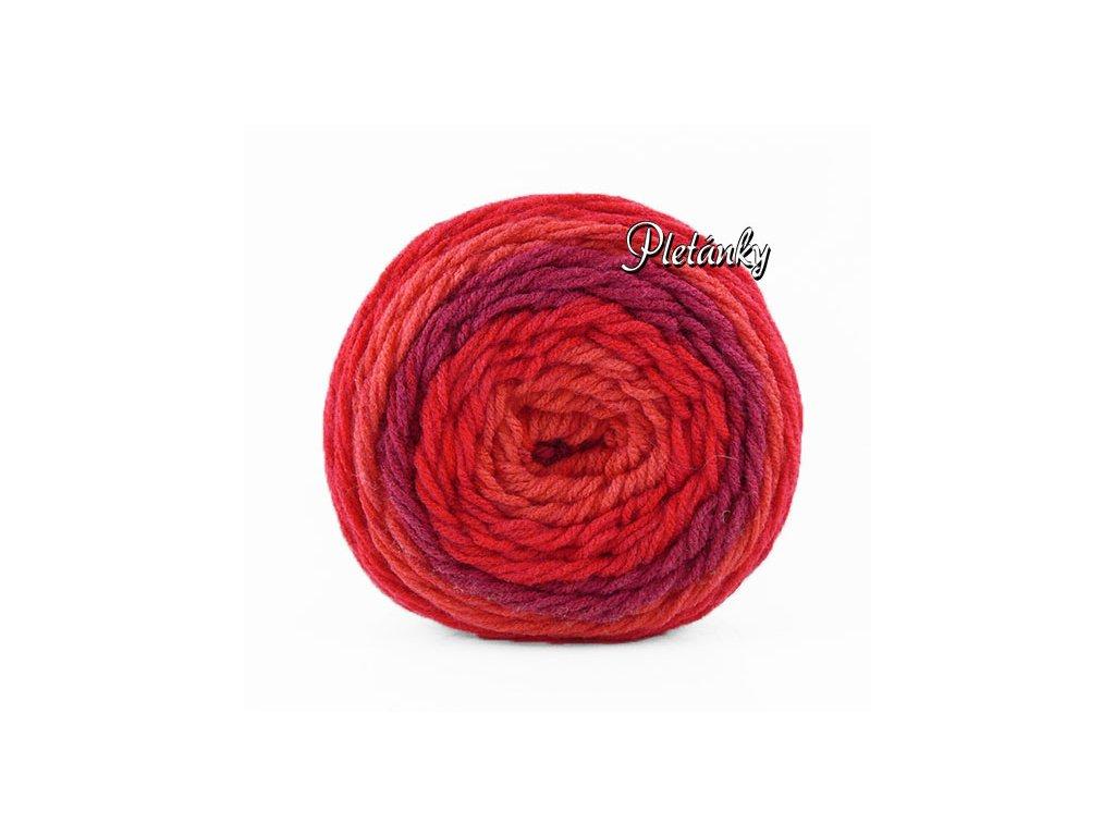 Sweet roll 1047-09 - jasná červená