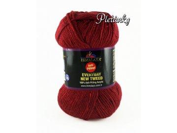 Příze Everyday New Tweed 75102 - červená