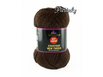 Příze Everyday New Tweed 75110 - hnědá