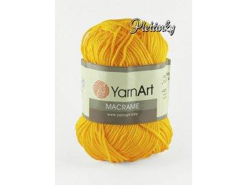Macrame 142 - žlutá