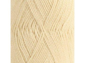 Příze DROPS BabyAlpaca Silk uni color 2110 - vanilková