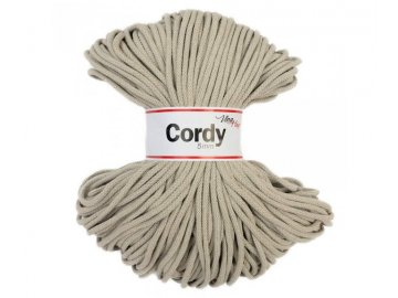 cordy 5mm béžová