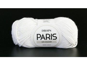 Příze Drops Paris 16/659 - bílá (lehce do smetanova)