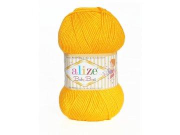 Příze Baby best 216 - sytá žlutá