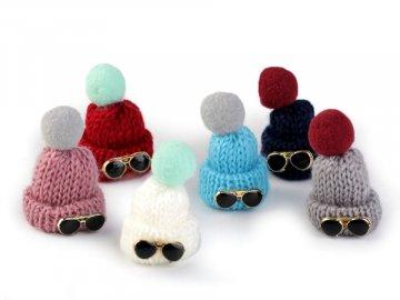Aplikace Čepička pletená 390651 - náhodná barva