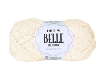 Příze DROPS Belle 02 - smetanová