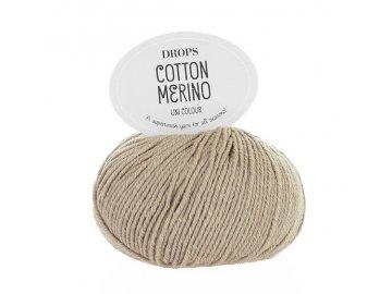 Příze DROPS Cotton Merino 03 - béžová