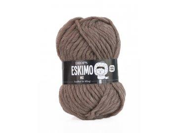 Příze DROPS Eskimo/Snow mix 23 - světle hnědá