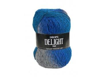 Příze DROPS Delight print 03 - modrá