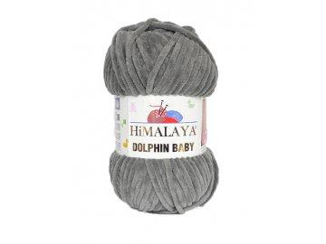 Příze Dolphin Baby 80320 - šedá