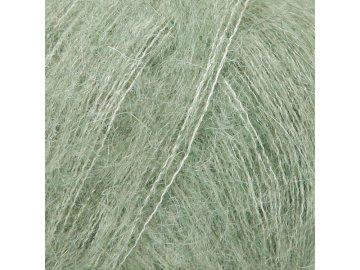 Příze DROPS Kid-Silk long print 34 - zelená šalvěj