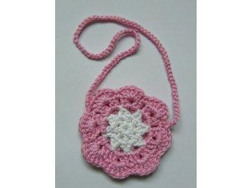 Růžová kabelka pro nejmenší parádnice