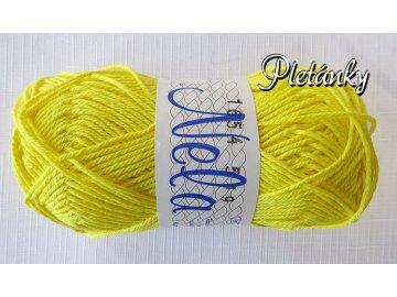 Příze Nela 1654 - žlutá