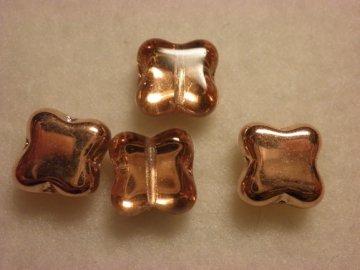 Mačkané korálky tvarové 9mm