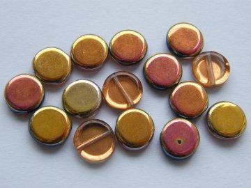 Placka oranžovo-růžová 10mm, 00030/28010
