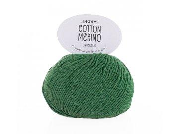 Příze DROPS Cotton Merino 11 - zelená