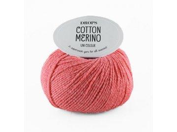 Příze DROPS Cotton Merino 13 - korálová
