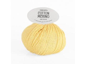 Příze DROPS Cotton Merino 17 - vanilková