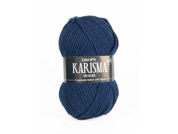 Příze DROPS Karisma uni colour 37 - tmavě šedo-modrá