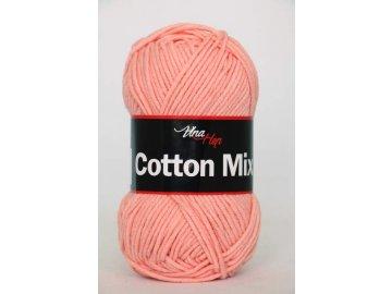 Příze Cotton Mix 8011 - lososová