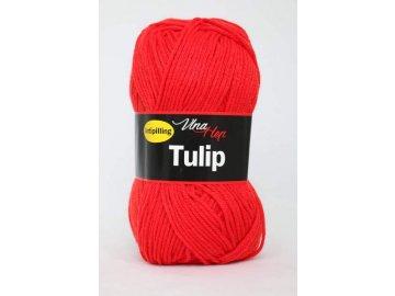 Příze Tulip 4008 - červená
