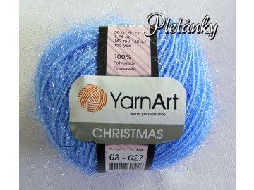 Příze Christmas 03 - světle modrá