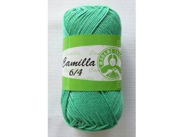Příze Camilla 6/4, 5323 - břečťanová