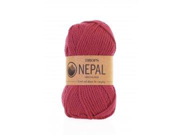 Příze DROPS Nepal uni colour  8910 - fuchsie