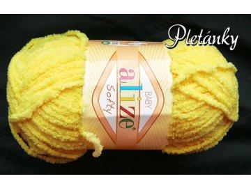 Příze Softy - 187 - žlutá
