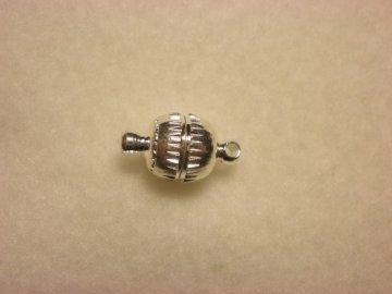 Magnetické zapínání 8mm, postříbřené