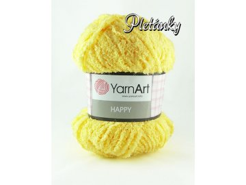 Příze Happy 774 - žlutá