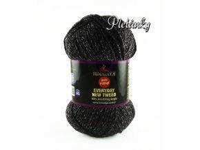 Příze Everyday New Tweed 75112 - černá