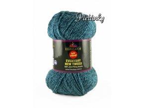 Příze Everyday New Tweed 75107 - modrá