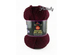 Příze Everyday New Tweed 75117 - vínová