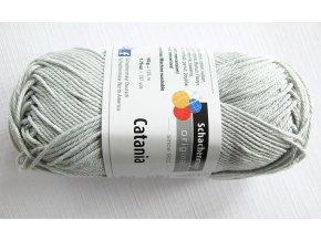 Příze Catania 172 - stříbřitá šedá