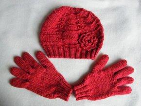 Souprava - čepice a rukavice, 1657