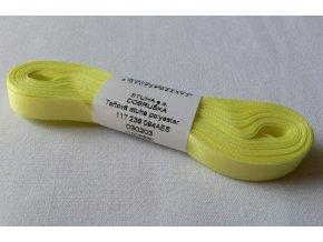 Stuha taftová 9 mm , banánová - 203