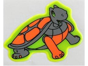 Reflexní samolepka - želvička