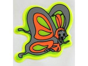 Reflexní samolepka - motýl